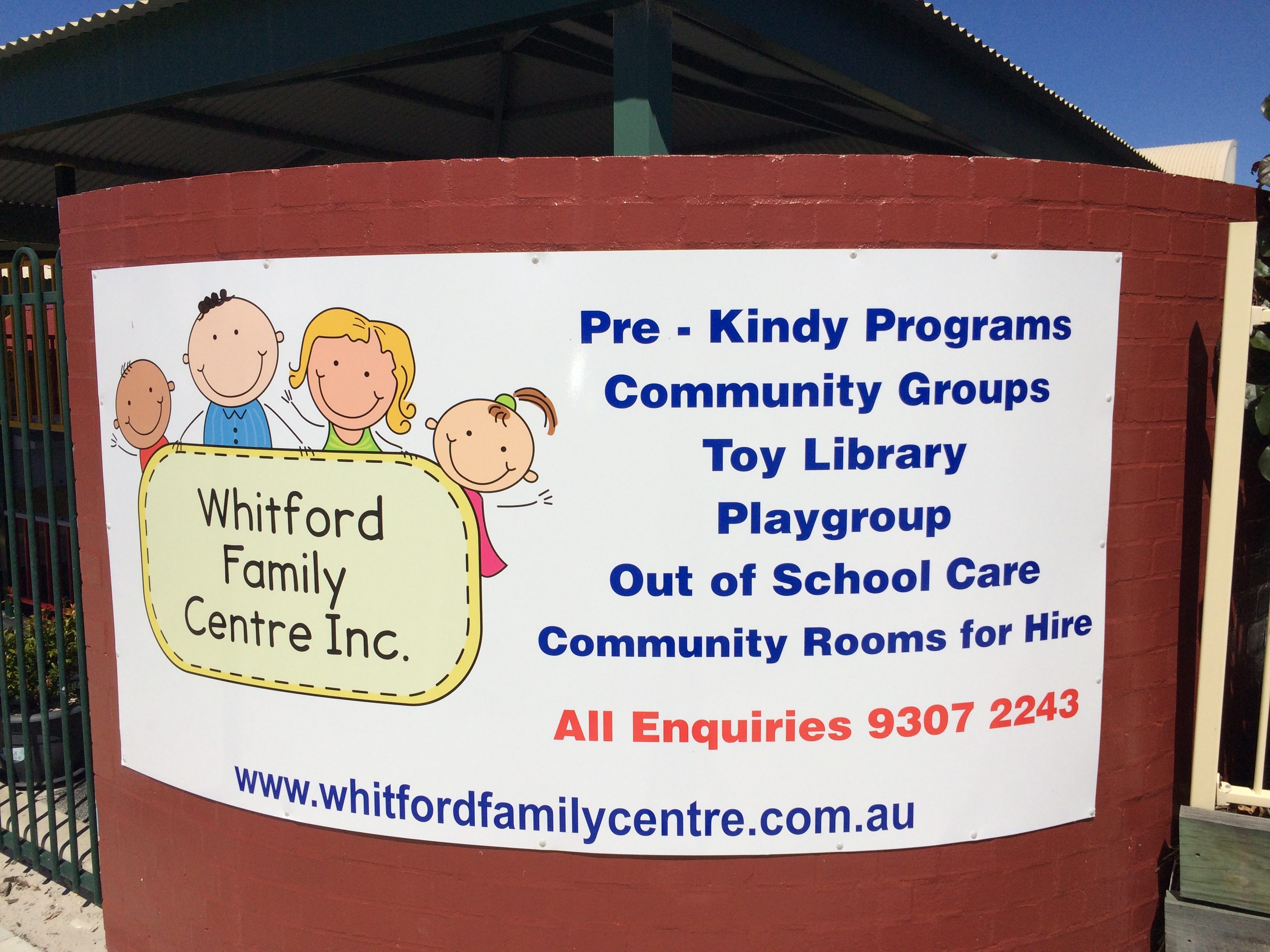 About Us – Whitford Family Centre